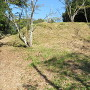 人質櫓跡から本丸