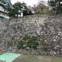 石垣(西側内堀)