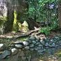 蛭子神社(北西側)土塁