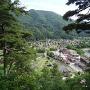 荻町城から見た白川郷