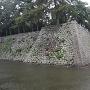 石垣と内堀