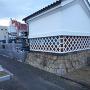 福島城 石垣