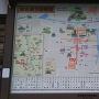 鉄砲町駐車場にある城下絵地図