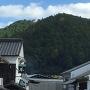 城下町から見た足助城