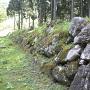 御館の石垣