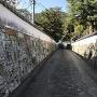 氏江小路の石塀