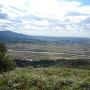 山上部からの眺め