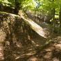 二の丸横の堀