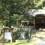 麓にある櫃蔵神社