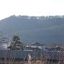 真田の郷から見る砥石城
