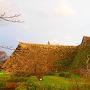 石垣(北西側)