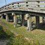橋の下は堀跡