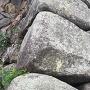 唐原山城から持ち出した石