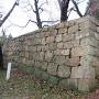 御鐘門跡石垣