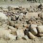 発掘された転用石