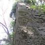 長門丸北角櫓石垣