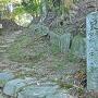 古代城らしい石の並び