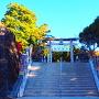 武田神社参道入口
