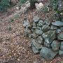 家老屋敷西側の石垣