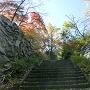 二俣城 本丸南側虎口