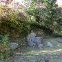 鳥羽山城庭園(枯山水)跡