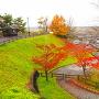 櫓台跡・空堀跡◆名神道多賀SA