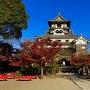 秋の犬山城2017