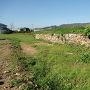 堀跡と石垣