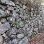 下太鼓の丸 二段目の石垣