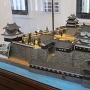 鉄櫓内の模型