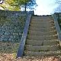 西の丸御殿への石段