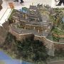 駅にある姫路城模型
