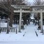 雪の砂館神社