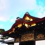 二の丸御殿唐破風◆二条城ガイドツアー