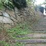 石垣と階段