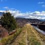 宮川と八ヶ岳