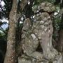 勝日高守神社 狛犬