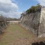 南西隅櫓跡下の巨大な算木積み
