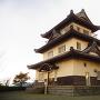 朝日山資料館◆模擬天守