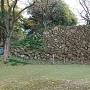 本丸北側の石垣其の参
