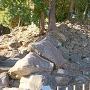 野面積み石垣