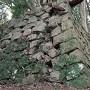 三左衛門殿丸の石垣