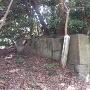 鐘撞堂跡の石垣