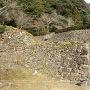 羽柴秀吉屋敷跡横の石垣