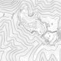 如意ヶ嶽城跡縄張り図