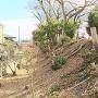 土塁(英賀神社)