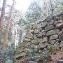 黒金門跡周辺石垣