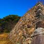 石垣(本丸西面)