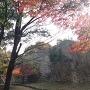 明石城二ノ丸北側石垣