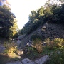 和歌山城鶴之渓から山吹渓を見る